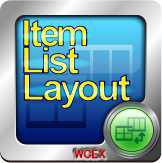 Item List Layout