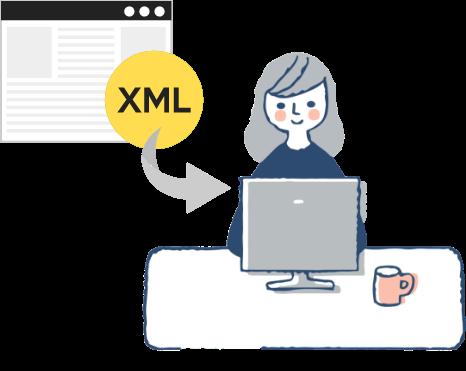XMLインポートイメージ